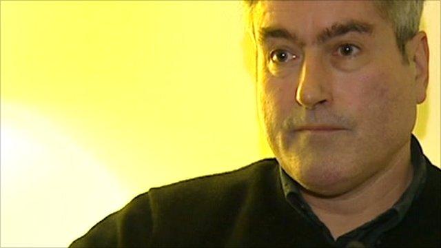 Labour leader in Scotland, Iain Gray