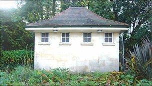 Public toilet in Bath