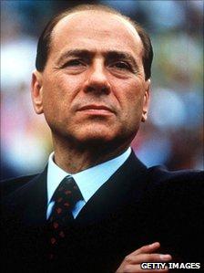 Silvio Berlusconi, pictured in May 1993