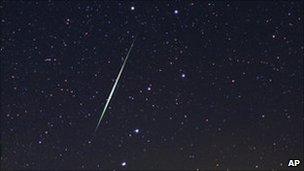 Meteor. Pic: astropics.com, Wally Pacholka.