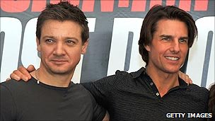 Jeremy Renner and Tom Cruise