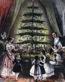Prince Albert and the Christmas Tree