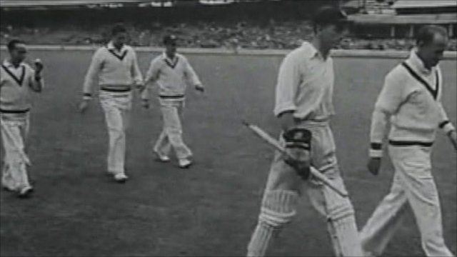 The Ashes test in 1948 - Courtesy of British Council