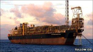 Floating storage production storage vessel the Kwame Nkrumah