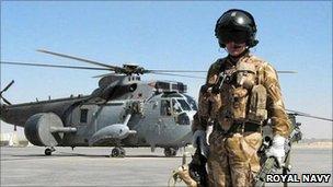 Culdrose aircrew on duty in Afghanistan