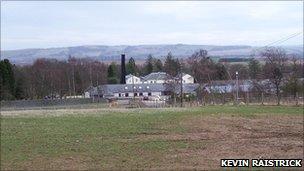 Noranside Prison. Pic copyright Kevin Raistrick and licensed for reuse under Creative Commons Licence