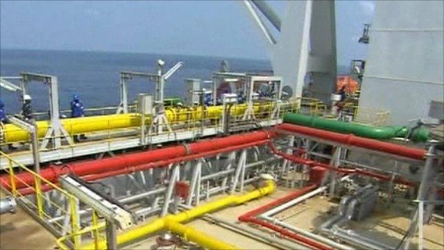 Ghana's offshore platform