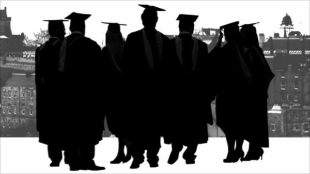 University students graphic