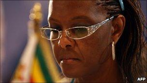 Grace Mugabe (file photo)