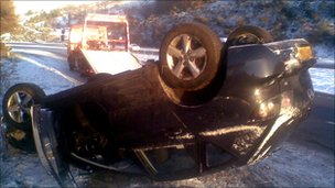 Crash in Aberdeenshire