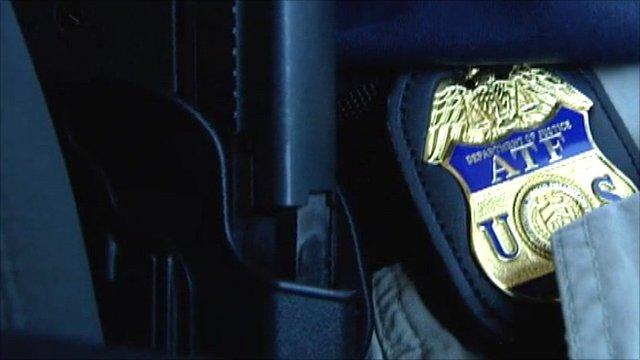 ATF badge and gun