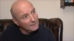 Noel Davis, a former MG Rover worker