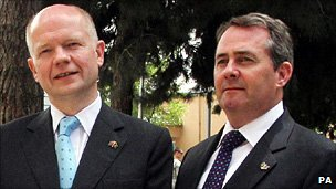 William Hague and Liam Fox