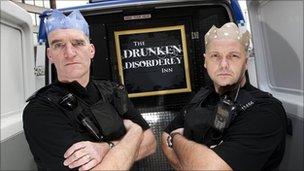 Drunken Disorderly Inn landlords