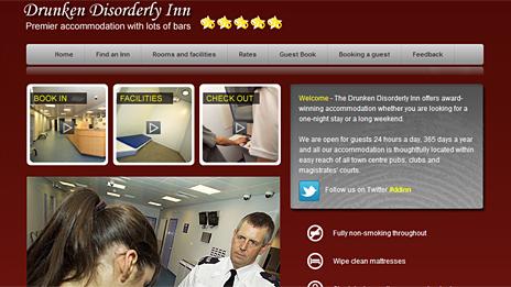 Drunken Disorderly Inn website