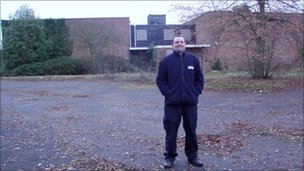 Andrew Gillon on new site at Foxhall