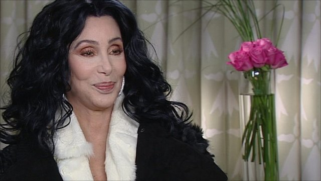 Cher admires BBC Breakfasts Charlie Stayts socks - BBC News