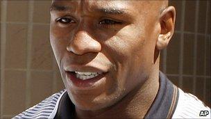 Floyd Mayweather Jr (file image)