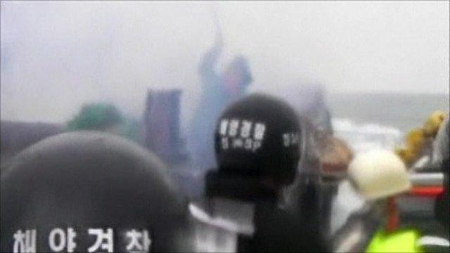 Still from coast guard video