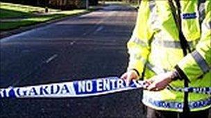 Garda crash scene generic