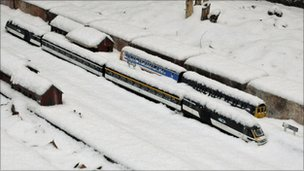 David Canning's picture of a model railway in Ravenwing Garden in Aldermaston
