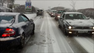 A435 near Cheltenham