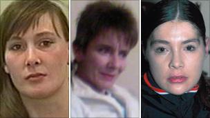 L-R Shelley Armitage, Susan Rushworth, Suzanne Blamires