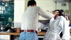 Domestic violence generic image