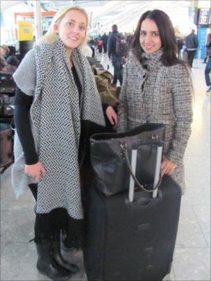 Sofie Therkildsen and Belin Beyoglu