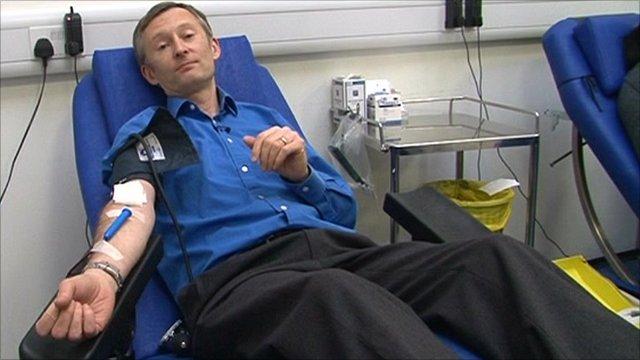 The BBC's medical correspondent Fergus Walsh