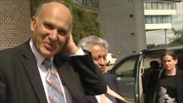Vince Cable spoke to undercover reporters