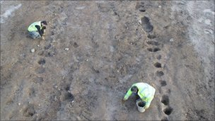 Anglo Saxon settlement find
