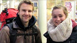 Tim Wilsehut and Ingrid Van Haaren