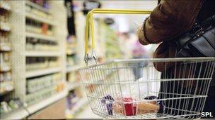 Supermarket shoping generic