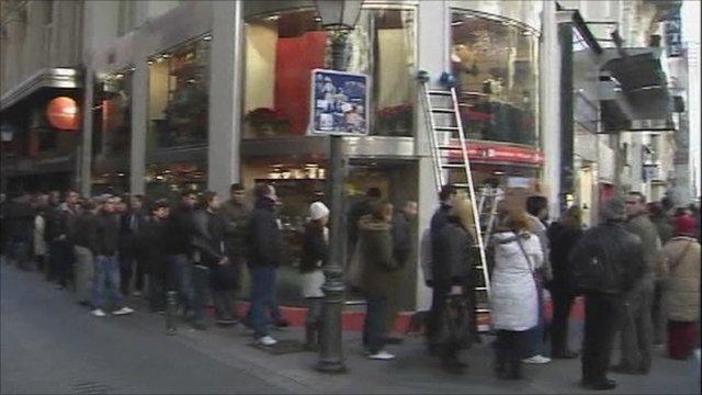 El Gordo queue
