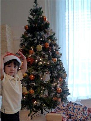 Christmas tree. Picture: Lye Ai Leen