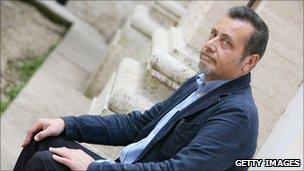 Italian author Massimo Carlotto