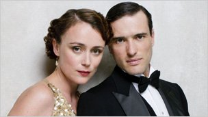 Keeley Hawes and Ed Stoppard in Upstairs Downstairs