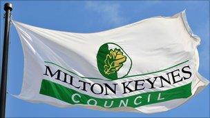Milton Keynes Council flag
