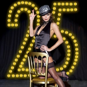 Kara Tointon promoting the special EuroMillions Millionaire Raffle draw on Christmas Eve