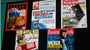 front covers of magazines on security