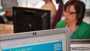 NHS Direct staff
