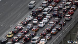 Beijing traffic 23 Dec 2010