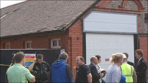 Former Mines Rescue Centre in Wrexham