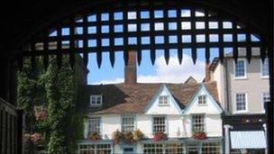 Abbey gate at Bury St Edmunds