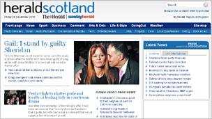 The Herald website