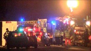 Norwich coach crash