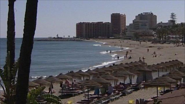 Spanish resort