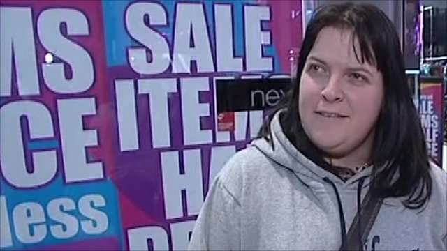 Shopper disappointed by the sales