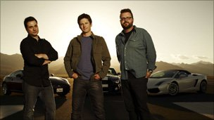 The Top Gear USA presenting team